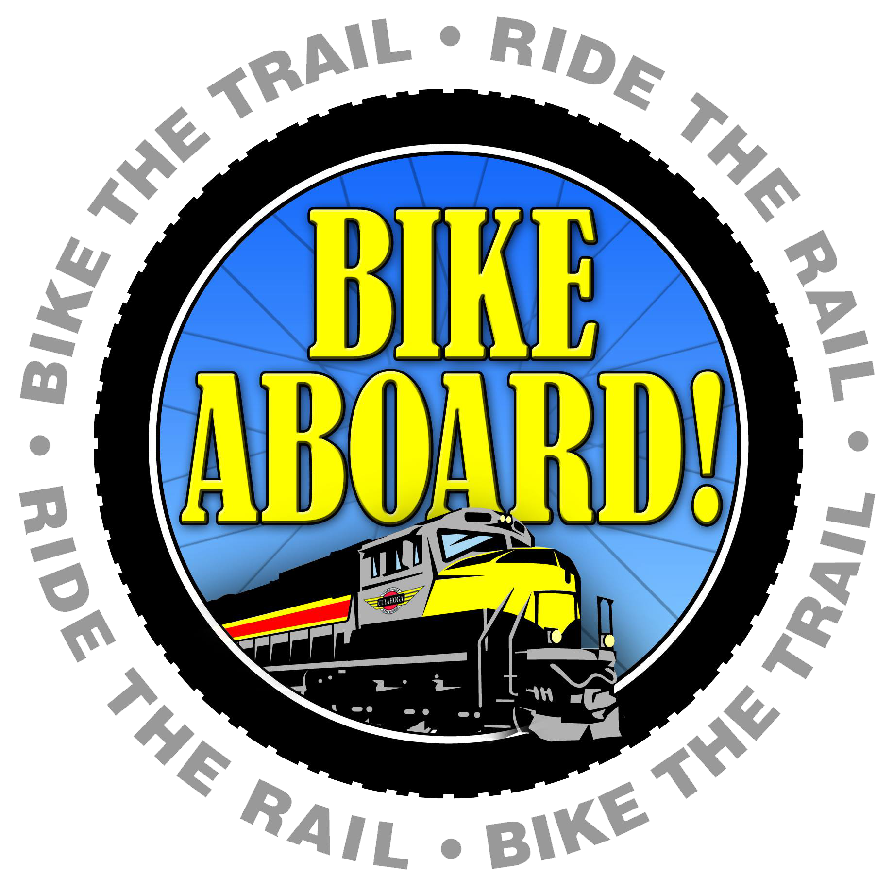 bie aboard bike the trail ride the rail