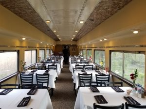dining train tables