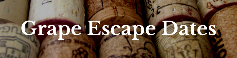 grape escape dates wine corks