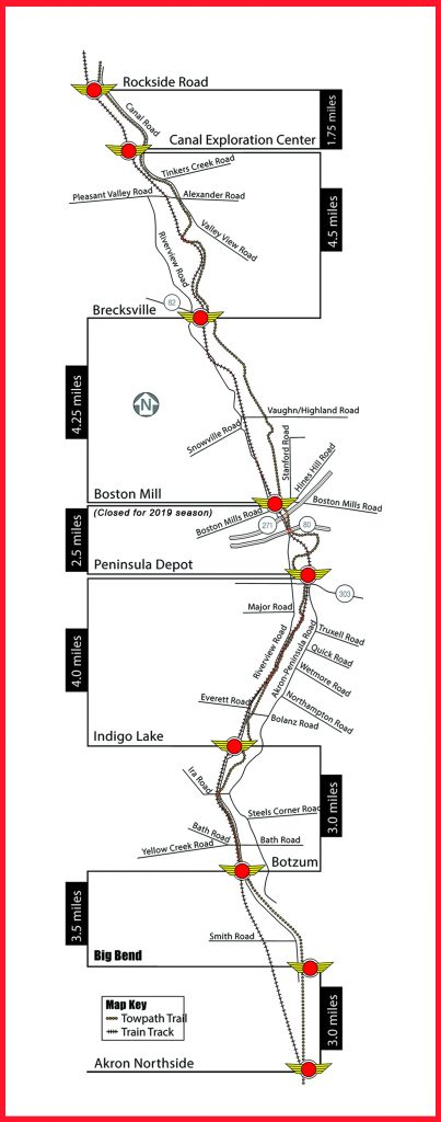 Route - Cuyahoga Valley Scenic Railroad on mta rail map, mumbai suburban railway map, rail lines map, new york city mta map,