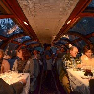 Zephyr Dome Car_Dinner on the Train